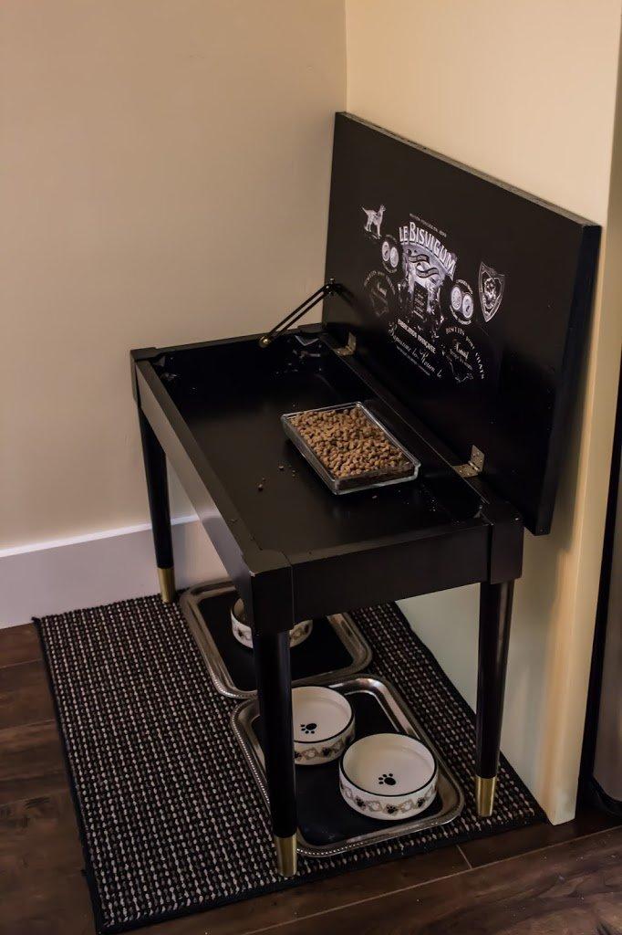 New feeding station