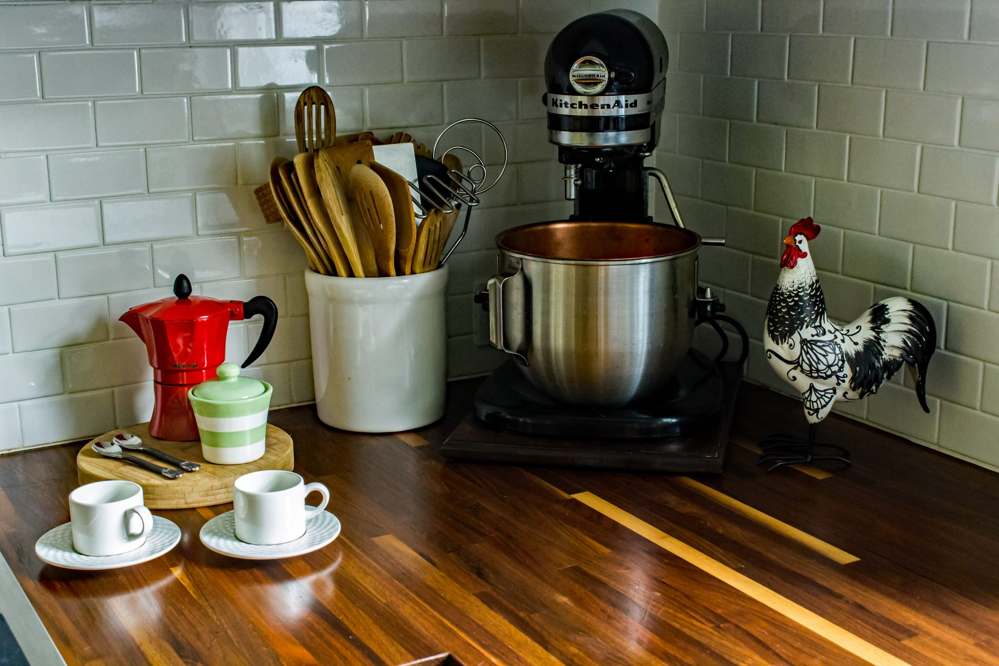 Solution for sliding your heavy Kitchenaid mixer