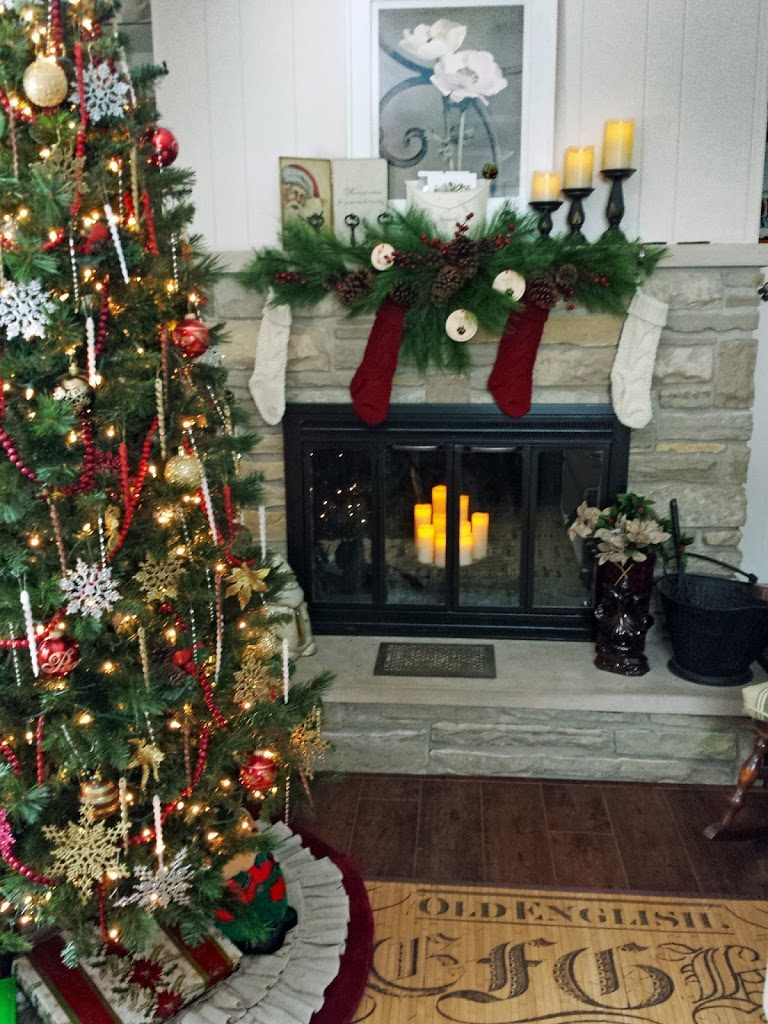 Sitting room Christmas