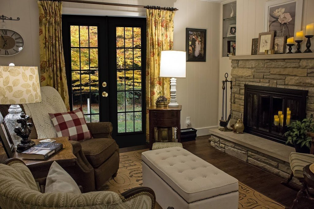 How French doors will look in my sitting room