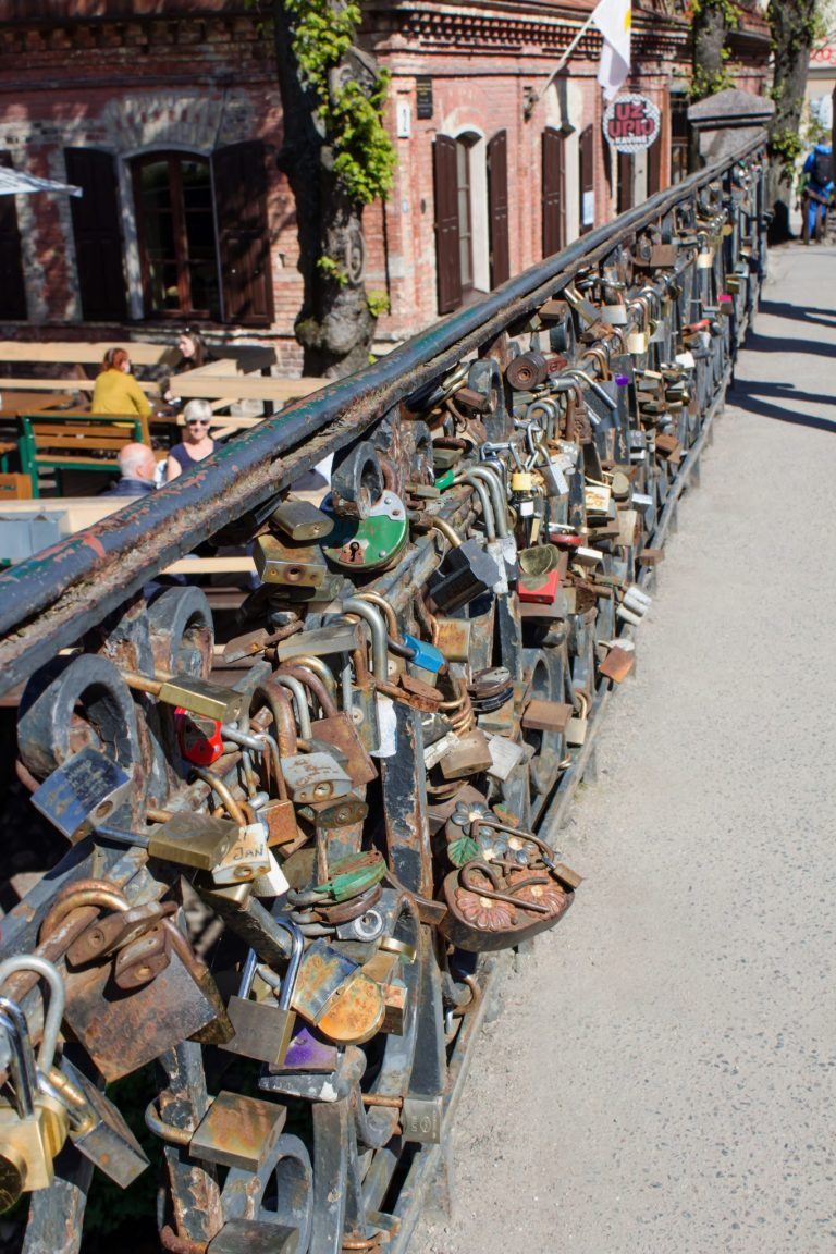 Locks on Bridge