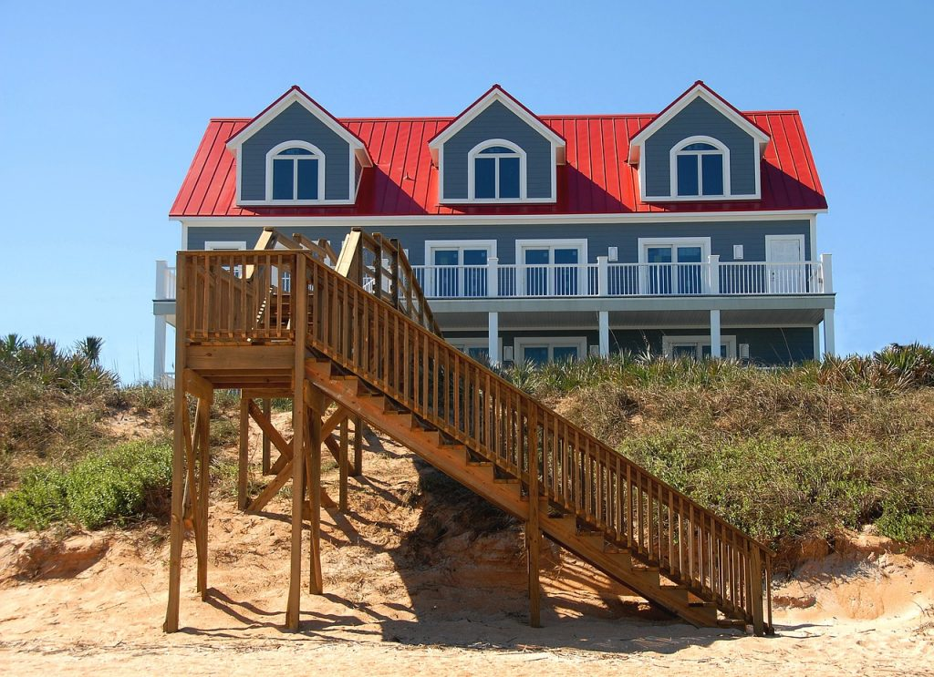 Beachfront Home Vacation Rental