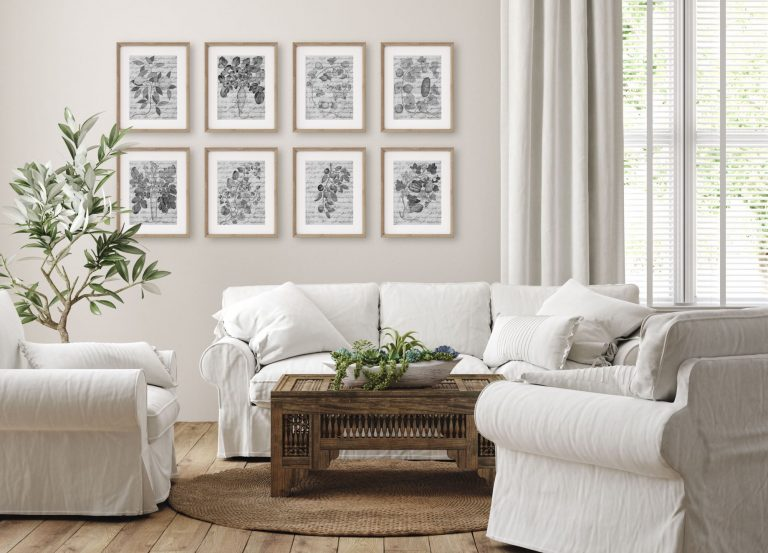 Living Room Gallery Art