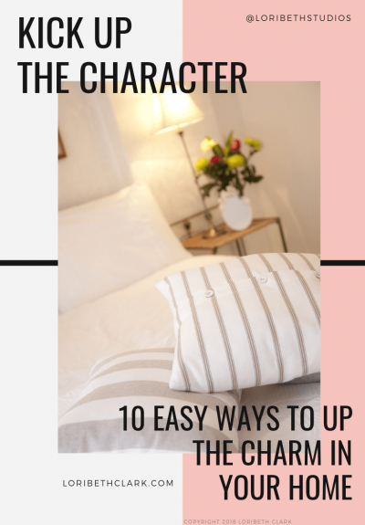Ways to add Character to your home